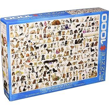 Ravensburger Dogs Galore! 1000 piece jigsaw puzzle: Amazon.co.uk ...