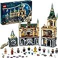 LEGO Harry Potter La Camera dei Segreti di Hogwarts, Set Castello con Sala Grande e Minifigure d'Oro del 20° Anniversario, 76
