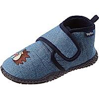 Playshoes Hausschuh Igel, Pantofole Unisex-Bambini
