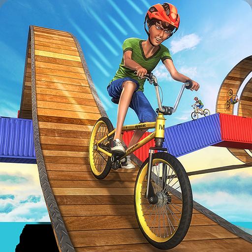 Impossible BMX Crazy Rider Cycle Stunt Games: Dirt Bike Racing Fever Pro Rush 3D Adventure Simulator 2018