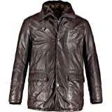 JP 1880 Men's Big & Tall Nappa Leather Removable Lining Jacket 716953