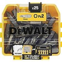 DEWALT DT71521-QZ n.25 pezzi inserti pz2 da 25 mm. in tic tac (in espositore masterbox da 21 pezzi)