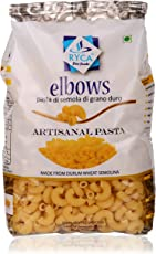 Ryca Artisanal Pasta Premium Quality- Elbow, 500 Grams, Rich in Fibre, Imported.