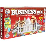 Ratna's Fun Filled Business 5 in 1 Deluxe Game with Plastic Money Coins for Young Businessmen to Learn Trading and Other Syst
