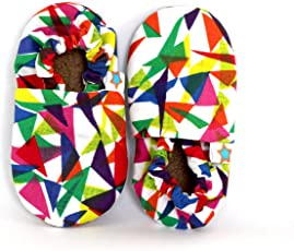 SKIPS Comfortable Baby Booties Shoes for Baby Boys & Girls- Multicolour - Geometric Print