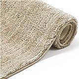Bedsure Alfombra Baño Antideslizante 40x60 - Alfombrilla Baño Barata Suave y Superabsorbente, Alfombra Ducha de Látex Pequeña