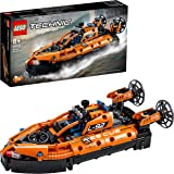 LEGO Technic Hovercraft di Salvataggio, Aereo, Kit di Costruzione 2 in 1, Veicoli Giocattolo per Bambini e Bambine dagli 8 An