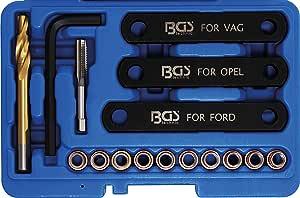 Bgs 148 Reparatur Satz Für Bremsgewinde 16 Tlg M9 X 1 25 Bremssattel Führungsbolzen Baumarkt