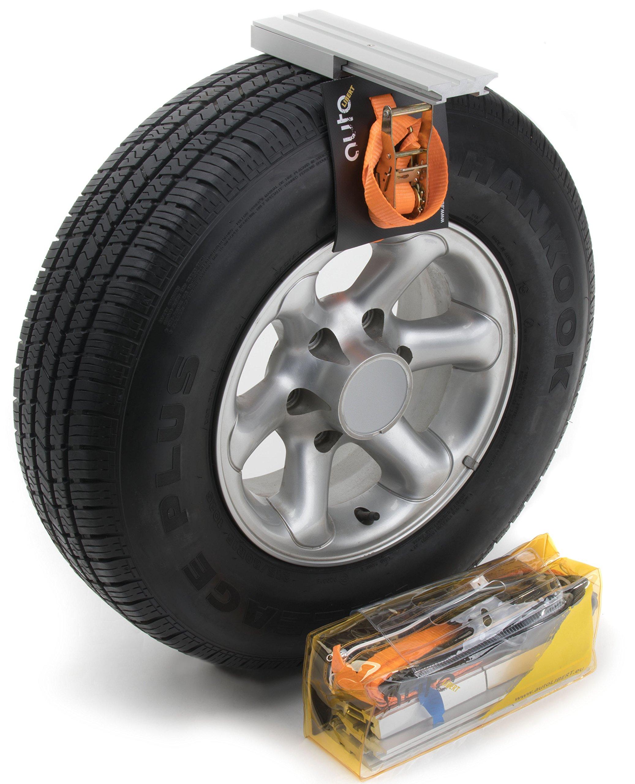 Chaînes antidérapantes pour pneus de SUV, véhicules utilitaires légers, véhicules 4×4. Remplacent les chaînes neige sur le terrain, pour les terrains boueux et sablonneux