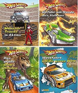 Mini Pixi BücherDisney Cars 3Teil 1-4Geschichtenband