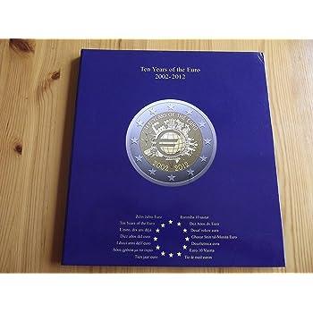 Münzalbum Presso Euro Collection Für 2 Euro Münzen 10 Jahre Euro