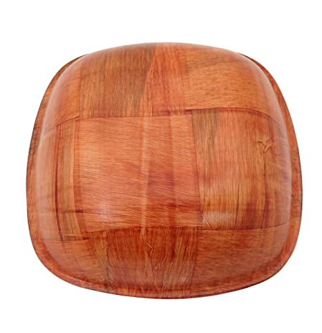 K13X Holzsch/üssel F/ÜNFECKIG Holzteller Holz Sch/üssel Teller Schale Bambus V2 1, K134 15cm