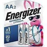 Energizer Energizer AA Lithium Batteries 2 Pack, Lasts 9 Times Longer