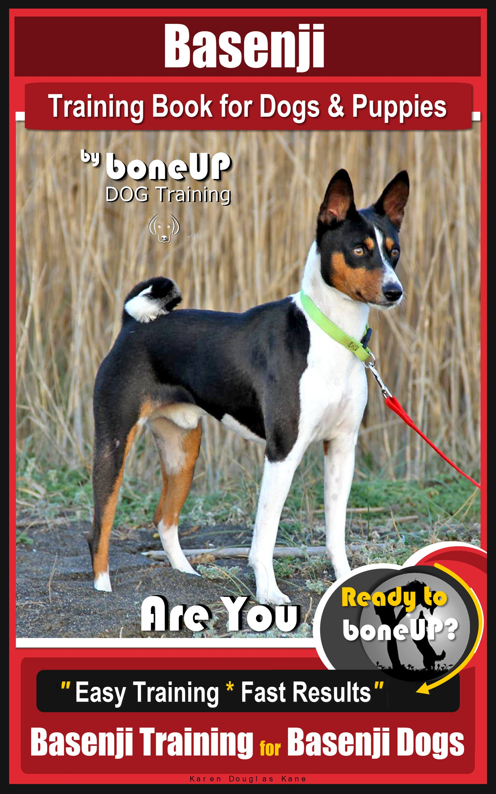 Basenji Training Book for Dogs & Puppies By BoneUP DOG Training: Are You Ready to Bone Up? Easy Training * Fast Results…