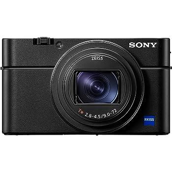 Sony DSC-RX100 VI Digital-/Kompaktkamera (20,1 Megapixel, 8,3x opt. Zoom, Touchscreen, 24 Bilder/Sek., 4K Video, Super Slow Motion, Zeiss Objektiv, Cyber-shot) schwarz