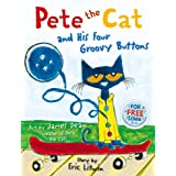 Pete the Cat and his Four Groovy Buttons (English Edition)