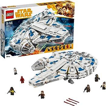 LEGO 75212 Star Wars Kessel Run Millennium Falcon Toy, 6 Minifugures incl. Han Solo, Chewbacca, Qi'ra, Lando Calrissian