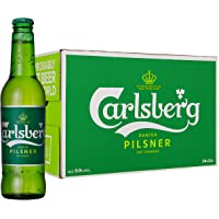 Carlsberg Birra Pilsner 24 Bottiglie da 330 ml