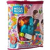 Mega Bloks DCH54 Grote Bouwtas (Roze) (60 onderdelen)