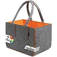 Shopping Bag aus Filz, große Einkaufs-Tasche mit Henkel, Einkaufskorb, faltbare Kaminholztasche zur Aufbewahrung von…