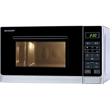 sharp r 242 in w microwave oven freestanding silver amazon rh amazon co uk sharp r242 microwave instructions