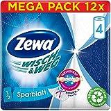 Zewa Wisch & Weg Sparblatt 4x74 Blatt / 12 Stück, 5900 g 43224