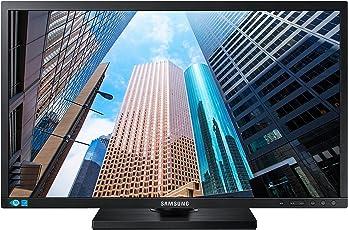 SAMSUNG S24E650PL 60cm 24Zoll TFT Wide 16:9 1920x1080 250cd/m2 1000:1 4ms AD-PLS Pivot Lautsprecher TCO6 DP HDMI schwarz