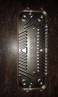 189mm VAILLANT Turbomax Plus 837 e VUW 362//2-5 /& r3 ACS scambiatore di calore 065123