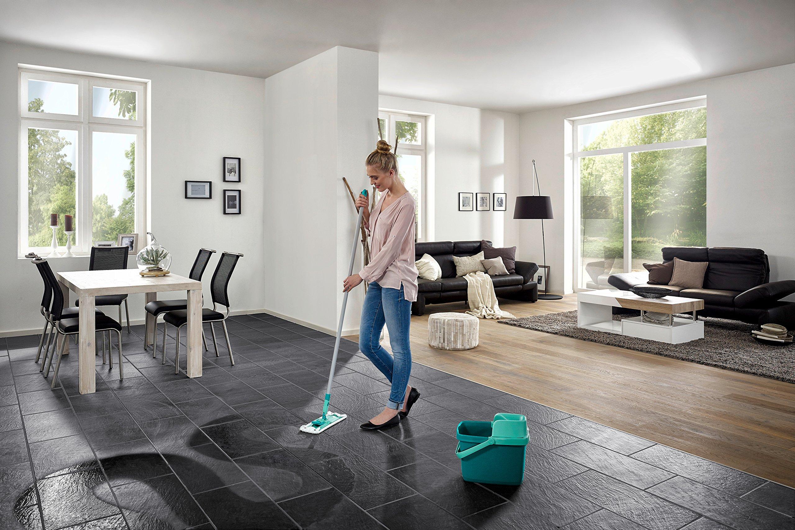 leifheit 55356 set combi clean inkl eimer mit presse. Black Bedroom Furniture Sets. Home Design Ideas