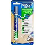 Grout Pen - Ontworpen voor het herstellen van tegelspecie in badkamers en keukens (grijs)