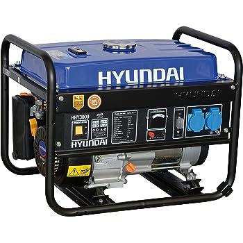 generatore di corrente hyundai hy 3000 3 kw