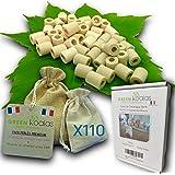 Green Koalas X110 Perles de Céramique EM® Roses X50 + Grises X60 Pack Purificateur Naturel Filtration Eau du Robinet Carafe F