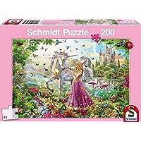 Schmidt Spiele - 56197 - Belle fée dans la forêt Magique