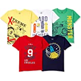 Chromozome Boys' Regular Fit T-Shirt