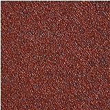 Rouleau carton bitumé rouge 2,5 m² autocollant
