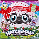 Hatchimals CollEGGtibles — Advent Calendar with Exclusive Characters and Paper Craft Accessories, for Ages 5 and Up