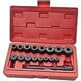 KFZTEILESCHNELLVERSAND24 - Juego de herramientas de centrado universal para coche, 17 piezas