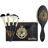 Harry Potter Beauty Case Per Donna E Ragazza, Astuccio Con Set Di Pennelli Make Up E Spazzola Per Capelli, Trousse Da Viaggio