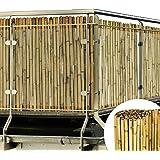 Sol Royal Balkonscherm bamboe tuinscherm 100x250cm SolVision B38 balkondoek zichtbreeknet gemaakt uit premium bamboestokken