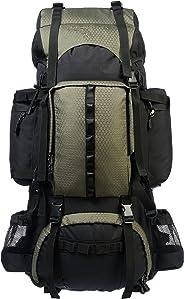 AmazonBasics - Wanderrucksack mit Innengestell und Regenschutz