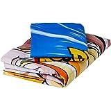 Dragon Ball Z Juego de edredón de polialgodón, Multicolor, Individual