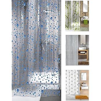 KW Bubble Shower Curtain 180 X 200cm