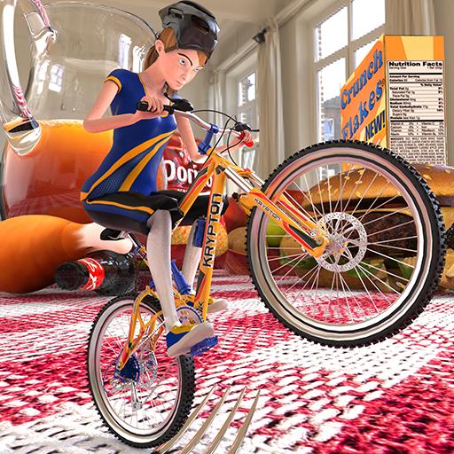 Dirt Bi Cycle Racing Fieber Pro Rush 3D Abenteuer Simulator Spiel: Impossible BMX Crazy Rider Zyklus Mädchen Spiele Kostenlos für Kinder 2018 -