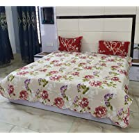 Bed Cover Quilted King Size Without Pillow Covers Pure Cotton Heavy Quality