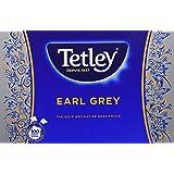 Tetley - Thé Noir Earl Grey - Arôme Robuste et Intense - Certifié Rainforest Alliance - 100 Sachets