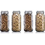 Star Work Airtight Storage Jars with Silicon Clamp Buckle Lid   Kitchen Transparent Box Accessories for Food Spice Masala Con