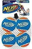 Nerf Set of 4Tennis Balls for Blaster for Dogs