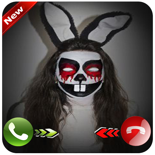 Evil Bunny Call (Android Halloween Wallpaper Live)