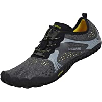SAGUARO Chaussures de Trail Running Homme Femme Chaussures Minimalistes Chaussures de Sport Outdoor & Indoor Gym Fitness…
