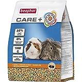 Care+ marsvinar | Havsvinsfoder med livsviktig vitamin C | Främjar hälsosam tandnötning | Med Omega 3 och 6 | 1,5 kg